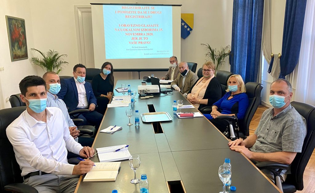 Ministry of Foreign Affairs BiH has formed the team for supporting the 2020 Local elections.